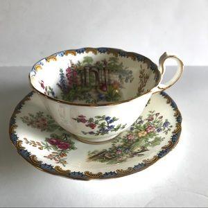 Vintage Aynsley English Tea Cup and Saucer